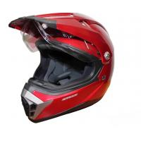 Шлем (мотард) MX455 L (красный)