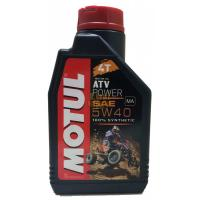 Масло MOTUL  ATV Power 4T 5W40 4л\1л. 105898