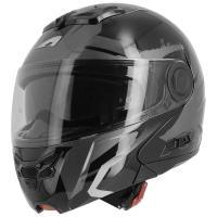 Шлем (модуляр) Astone RT800 ENERGY NOIR/BLANC черный/белый L