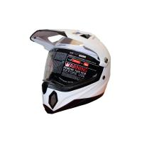 Шлем (мотард) MX453 XL (белый)