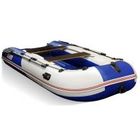 Лодка STELS HUNTER 335 Аеро синий/белый