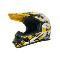 Шлем (кроссовый) Astone MX 600 белый/желтый/черный XXL