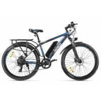 Велогибрид Eltreco ХТ850 серо-синий 2146