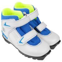 Ботинки лыжные р.35 TREK Kids2 белый (лого синий) N