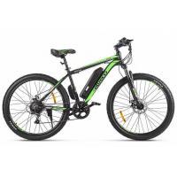 Велогибрид Eltreco ХТ600 D черно-зеленый-2383