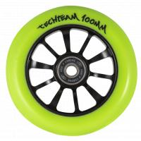 Колесо д/самоката X-Treme 100мм Winner yellow