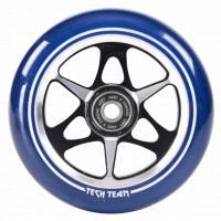 Колесо д/самоката X-Treme 110мм KL transparent blue
