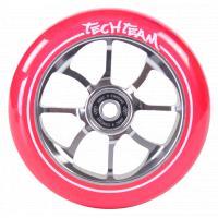 Колесо д/самоката X-Treme 110мм PO transparent pink