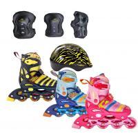 Maya Set р.27-30 XS (ролик. коньки, защита, шлем) розовый '20-'21