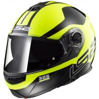 Шлем (модуляр) FF325 STROBE ZONE HI-VIS YELLOW BLACK L