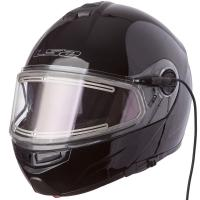 Шлем (модуляр) FF325 STROBE electric SNOW Gloss blak L