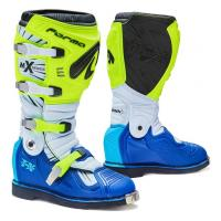 Мотоботы Forma Terrain TX  YELLOWFLUO/WHITE/BLUE 44