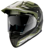 Шлем (Мотард) MT SYNCHRONY DUO SPORT TOURER matt green military black M