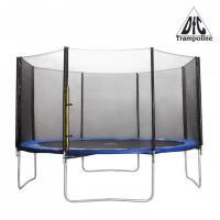 Батут DFC Trampoline Fitness 10футов наружн.сетка, синий (305см)