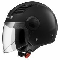 Шлем (открытый) OF562 AIRFLOW MATT BLACK LONG L