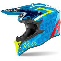 Шлем (кроссовый) Airoh Wraap Street Azure Gloss ( L )