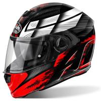 Шлем (интеграл) Airoh Starter термопл.ABS глянец красн/черн XL