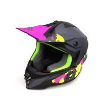 Шлем (кросс) детский XXDD FS-608 M (Mat black grey)