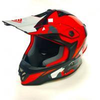 Шлем (кросс) детский XXDD FS-608 M ( Glossy white red)