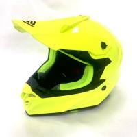 Шлем (кросс)  FS-607 SOLID XL ( Fluo Yellow )