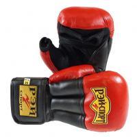 Перчатки для Рук. боя FIGHT-1, 12oz, кожа, р.M (красный) С4КХ12 РЭЙ-СПОРТ