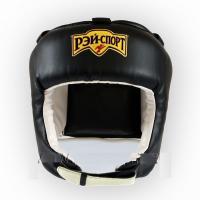 Шлем БОЕЦ-1, искожа, р.M (черный) Ш2ИВ РЭЙ-СПОРТ
