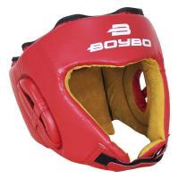 Шлем BoyBo Nylex боевой красный р.L