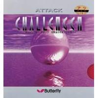 040577 Накладка BUTTERFLY Chalenger Attack 1.9 красн.