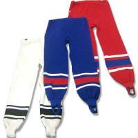 Рейтузы хоккейные (52, красн/бел)