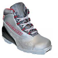 Ботинки лыжные МXS-300 серебро р.44