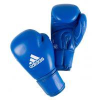 AIBAG1 Перчатки боксерские AIBA синие 10унц.