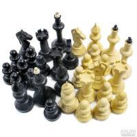 Шахматные фигуры №3 пластиковые Айвенго