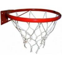 Кольцо баскетбольное №5с сеткой d380мм с упором (Т)