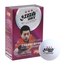 Мяч для н/т DHS 3 ***,40+ пластик, ITTF Appr. CF40A 1шт.
