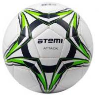 Мяч футб. ATEMI ATTACK PVC foam, р.3 бел/тем.син/салат.