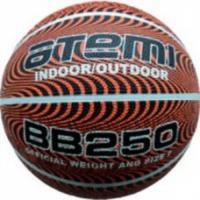 BB250 Мяч б/б ATEMI, р.7, резина, 8 панелей