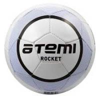 Мяч футб. ATEMI ROCKET, PVC бел/син., р.5, 330-350г