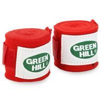 BP-6232c Бинты бокс, 3.5м, эластик красный