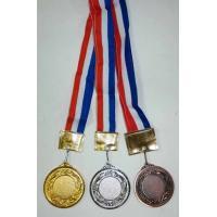 Набор медалей (золото, серебро, бронза) 53мм, (3шт/уп)