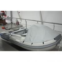 Надувная лодка GLADIATOR C330AL бело -тёмно синий, 55кг, 42см