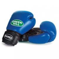BGH-2036 Перчатки HAMED синие 12 OZ бокс., к/з
