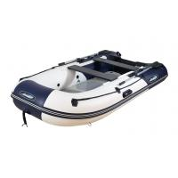 Надувная лодка GLADIATOR B330 DP бело - тёмно синий