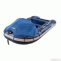 Надувная лодка GLADIATOR C370 DP бело-тёмно синий