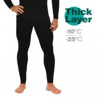 Кальсоны мужские Mottomo Thick Layer XL черный