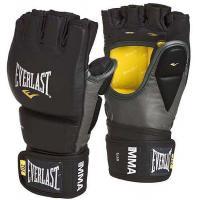 Перчатки тренировочные MMA Grappling L/XL черн/сер.