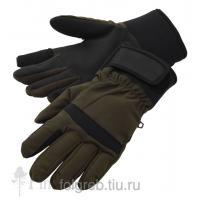 Перчатки охотничьи Кенни коричневые р.XL/XXL (Фолгреб)