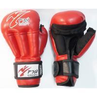 Перчатки для Рук. боя FIGHT-1, 6oz, и/к, р.S (красный) С4sNХ6 РЭЙ-СПОРТ