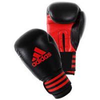 adiPBG100 Перчатки бокс. Power 100 черно-красные 10унц.
