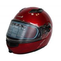 Шлем (модуляр) FF370 L (красный) Визор с подогревом RED