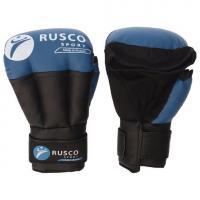 Перчатки для Рукопашного боя RUSCO SPORT 10 Oz син.